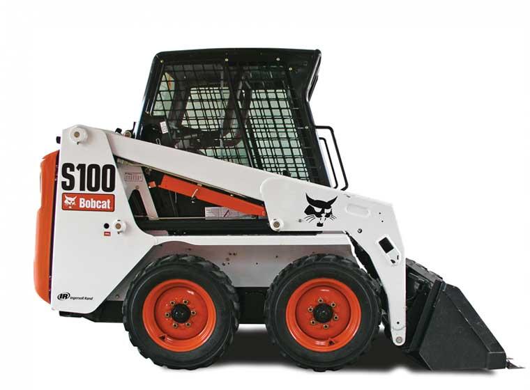 Chargeur sur pneus Bobcat S100