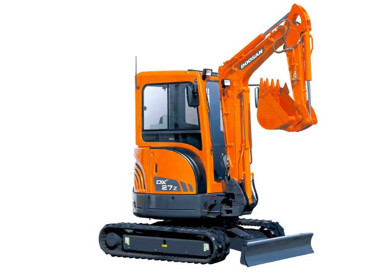 Mini pelle Doosan DX27Z