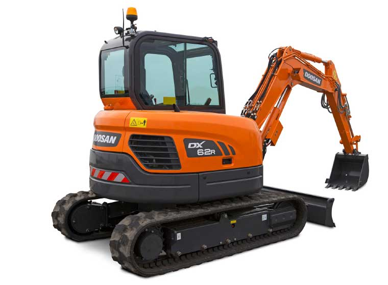 Mini pelle Doosan DX62R-3