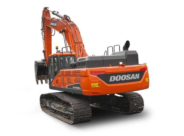 Pelle sur chenilles Doosan DX420LC-5