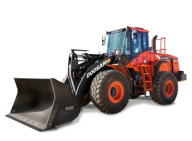 Chargeuse sur pneus Doosan DL350-5