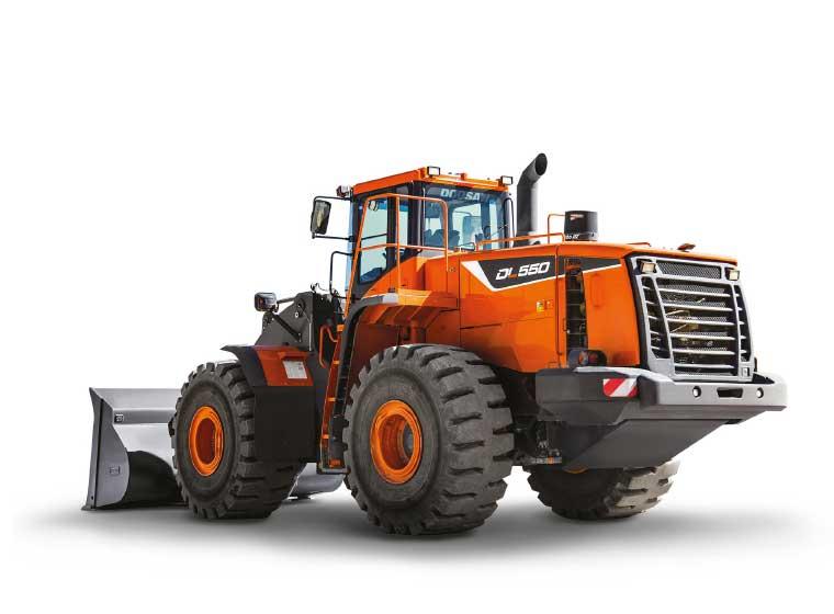 Chargeuse sur pneus Doosan DL550-5