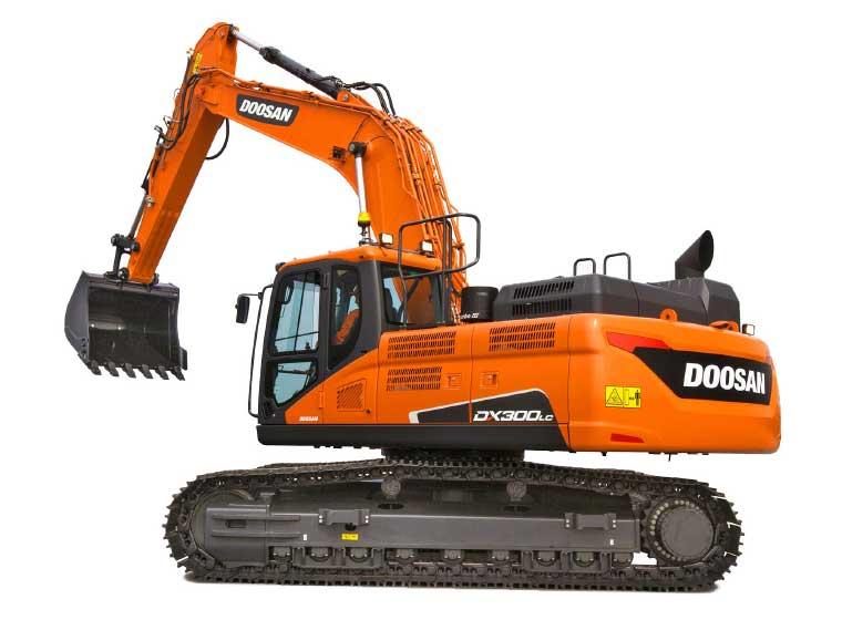 Pelle sur chenilles Doosan DX300LC-5