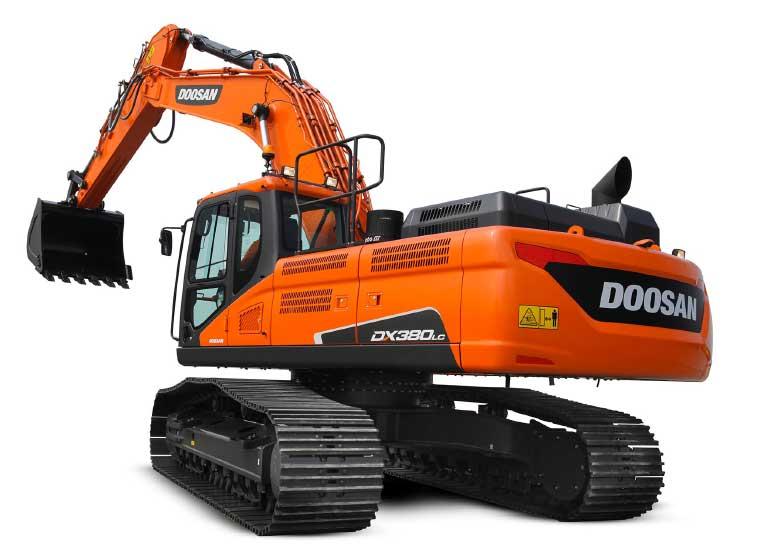 Pelle sur chenilles Doosan DX380LC-5