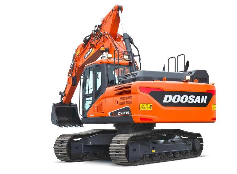 Pelle sur chenilles Doosan DX235LC-5