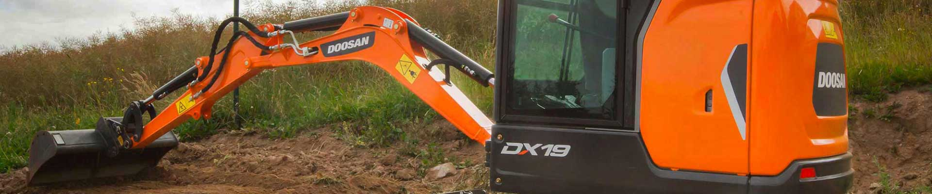Mini pelle Doosan DX17Z