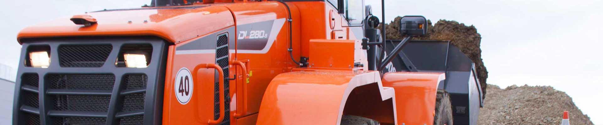 Chargeuse sur pneus Doosan DL420-5
