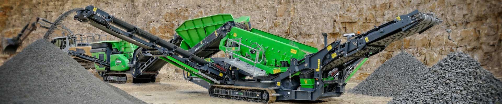 Machines de recyclage Evoquip